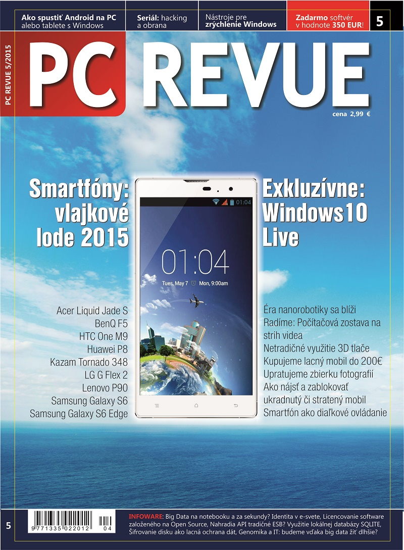 Photo PC REVUE 05/2015
