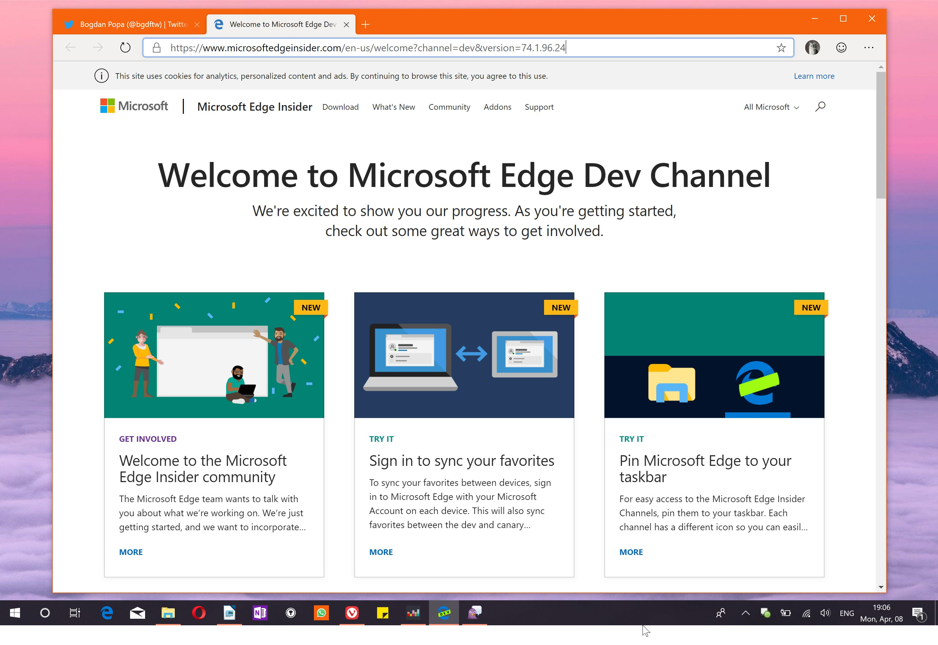 PC Revue | Microsoft has released the first Chrome version