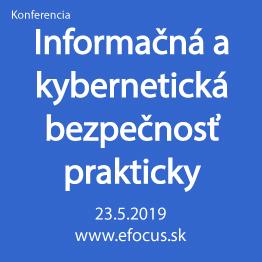 Informačná a kybernetická bezpečnosť prakticky