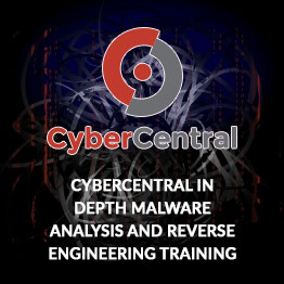 Cyber Central Malware Analysis Training