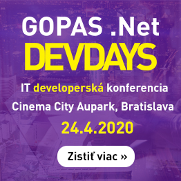 Gopas .Net DevDays 2020 - 24.4.2020