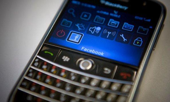 Zoznamka na BlackBerry
