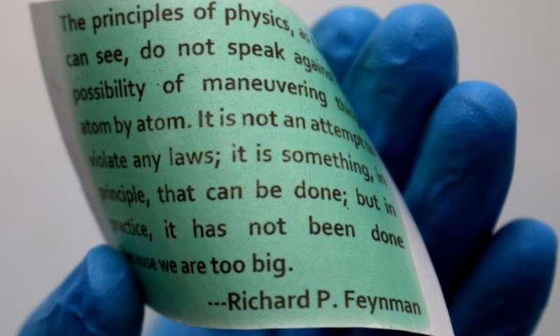 2c0499065 PC Revue | Tlačiareň bez atramentu: Vedci vynašli papier umožňujúci ...