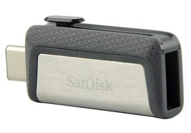 Photo SanDisk Ultra Dual Drive USB Type-C (64 GB): Moderná flashka s OTG