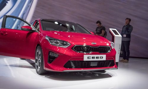 Photo Geneva International Motor Show 2018, Kia Motors
