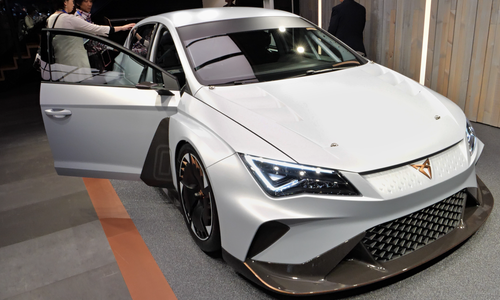 Photo Geneva International Motor Show 2018, Seat predstavuje značku Cupra