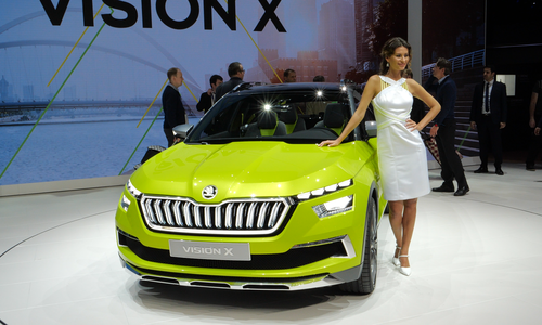 Photo Geneva International Motor Show 2018, Škoda auto