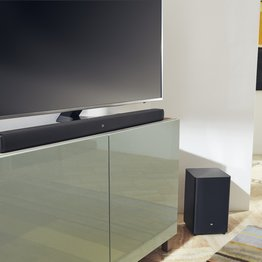 Photo JBL Bar Studio + JBL Bar 2.1: Kvalitný soundbar so subwooferom