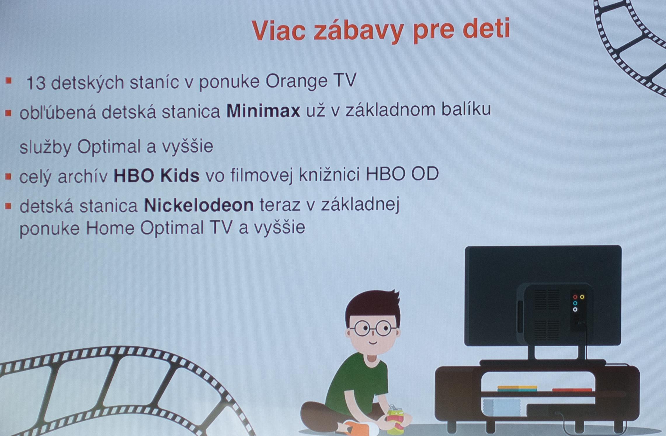 571ae14c3 Každý zákazník, ktorý si teraz objedná službu Orange TV (cez satelit,  optiku alebo internet) s viazanosťou na 24 mesiacov, si môže vybrať balík  HBO (stanice ...