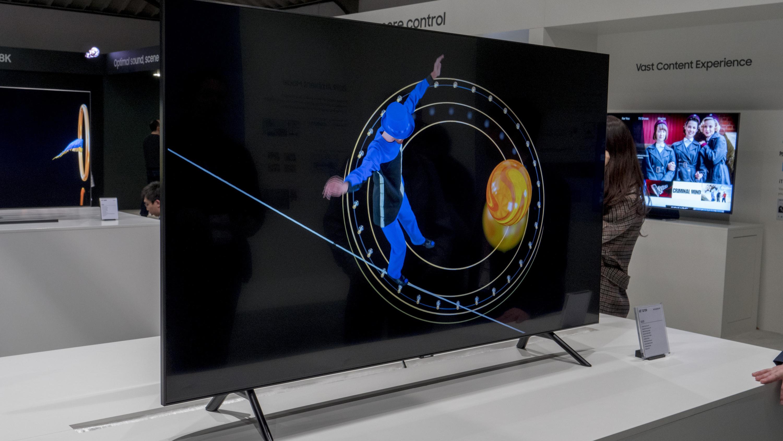 """5bc475ea7 ... podsvietenia Direct-Full-Array s lokálnym stmievaním a technológiou  """"Ultra Viewing Angle"""". Vďaka tomu dokážu nové modely Samsung QLED pre rok  2019 ..."""