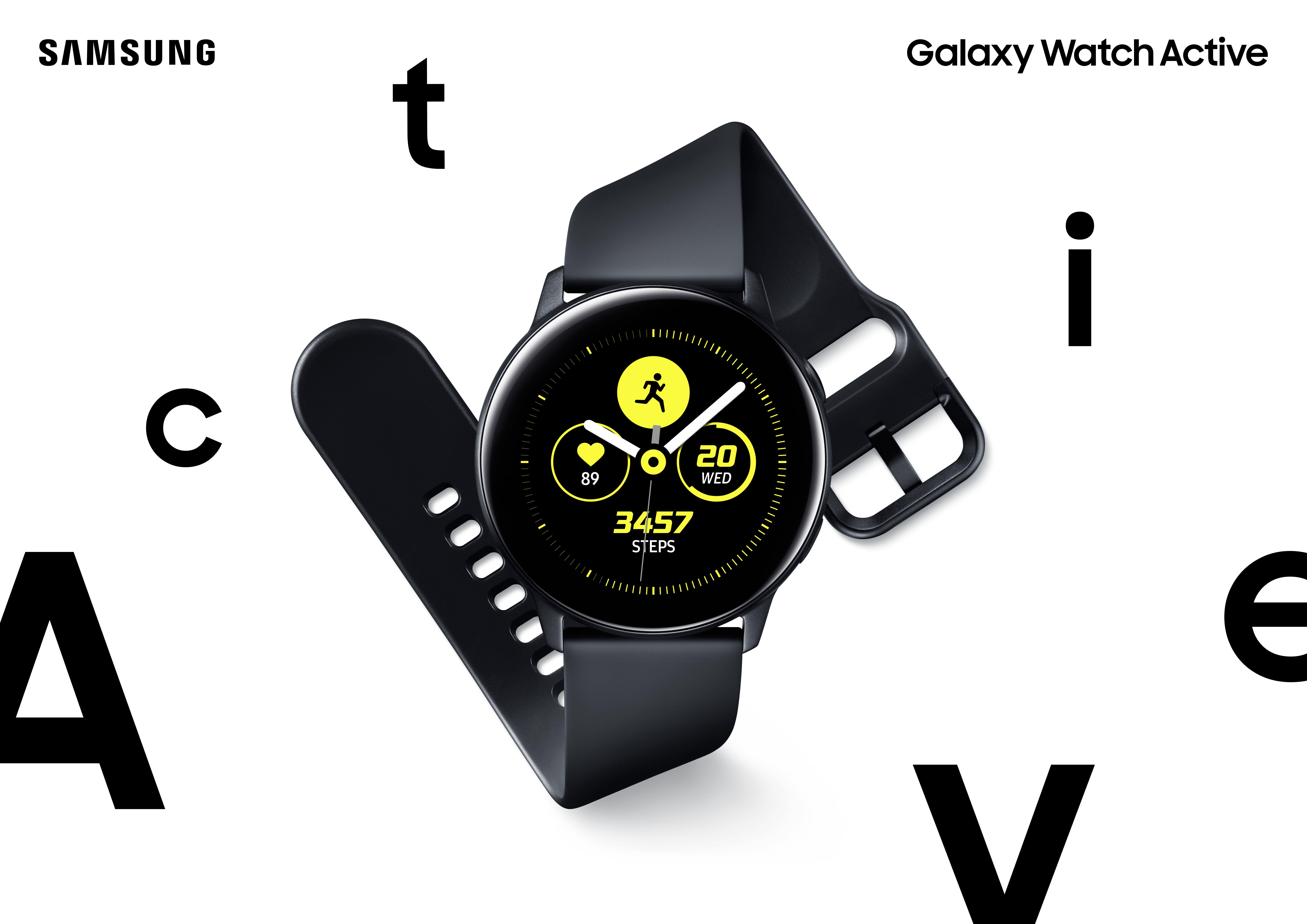 acbab2079c68 Galaxy Watch Active dokážu sledovať všetky dôležité aspekty vášho života.  Vďaka funkciám pre sledovanie fyzických aktivít