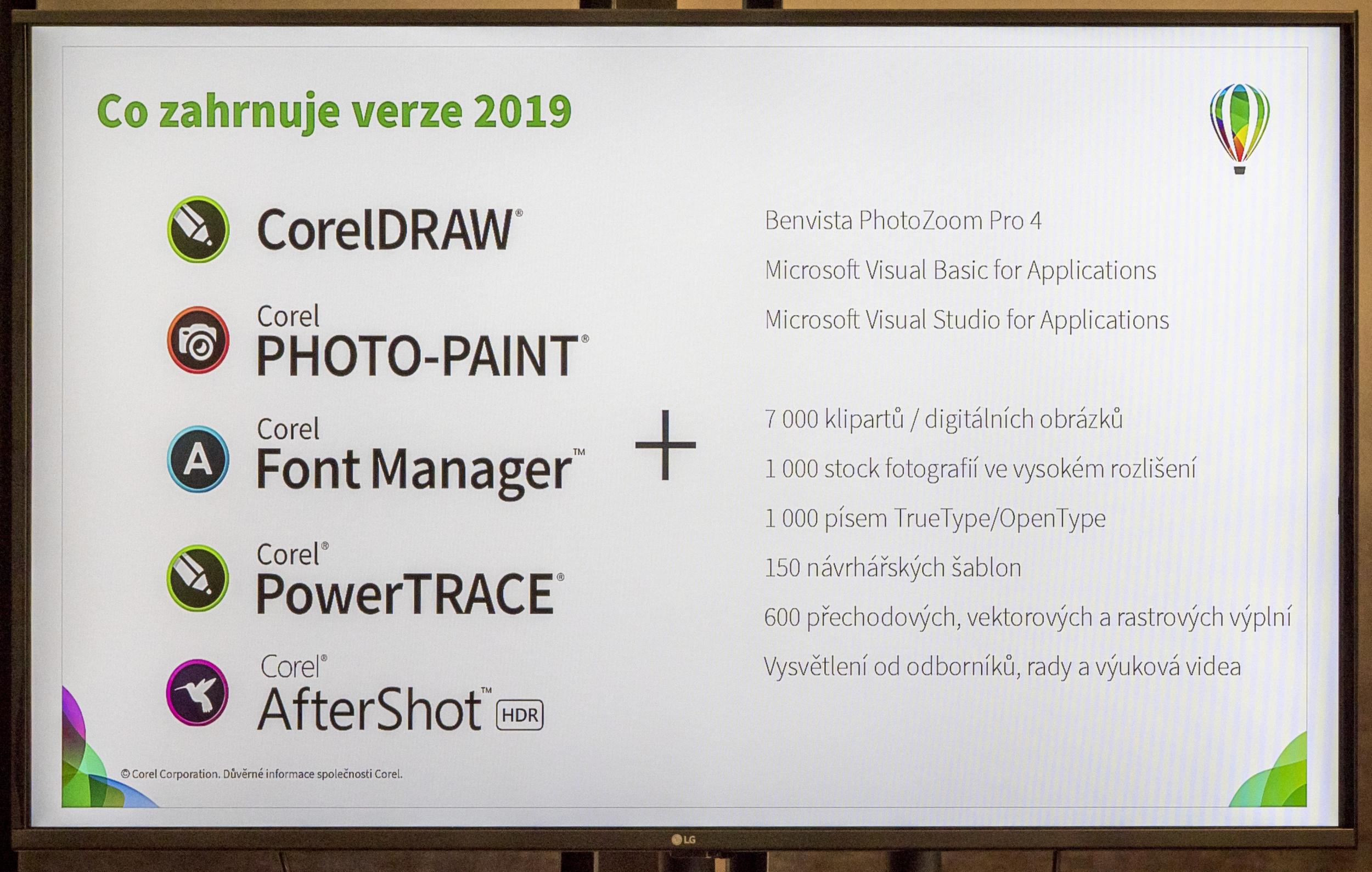 1f93b7ef0 ... cestách bude obsahovať obe verzie CorelDRAW® Graphics Suite pre Windows  aj MaOS. Corel Draw patrí k veľmi obľúbeným profesionálnym nástrojom pre  tvorbu ...