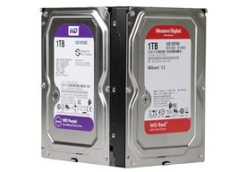 Photo Test HDD na 24/7: v čom je WD Purple iný od WD Red?