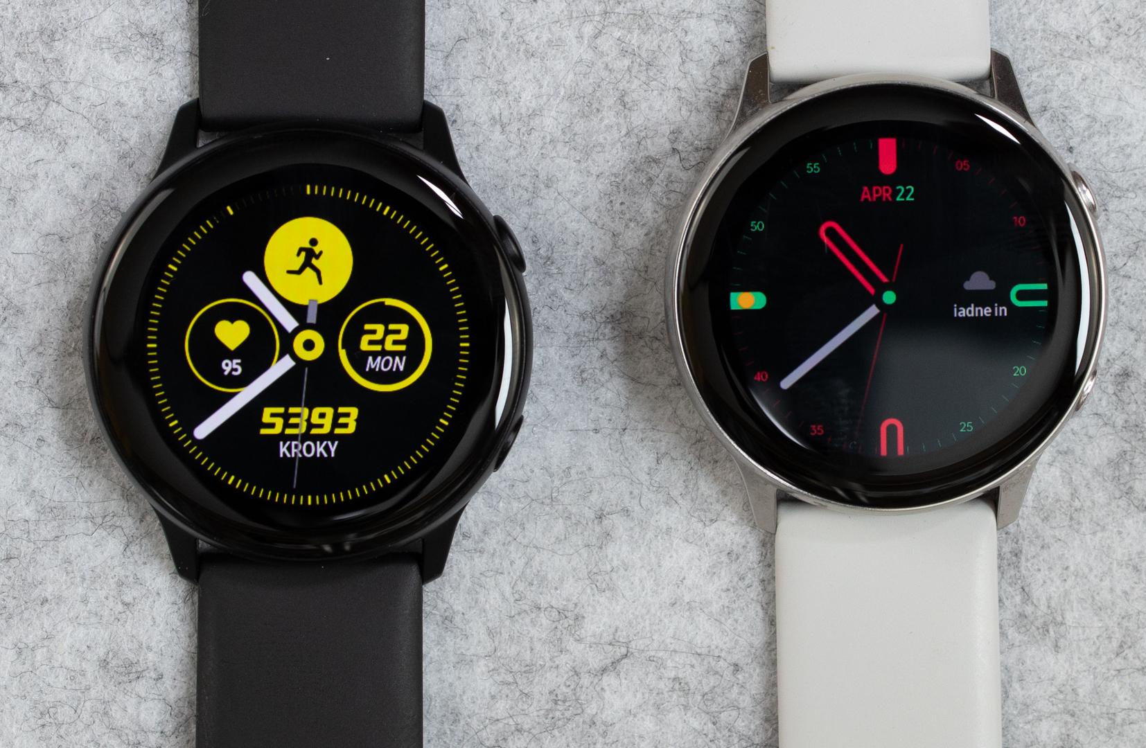 1b0ebcf19 PC Revue   Recenzia: Samsung Galaxy Watch Active - Hodinky pre zdravý  životný štýl a fitness