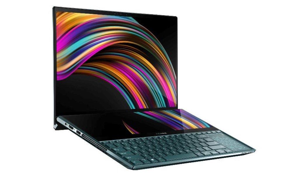 525121d17341 Nový notebook ASUS má dva 4K displeje a špičkové špecifikácie