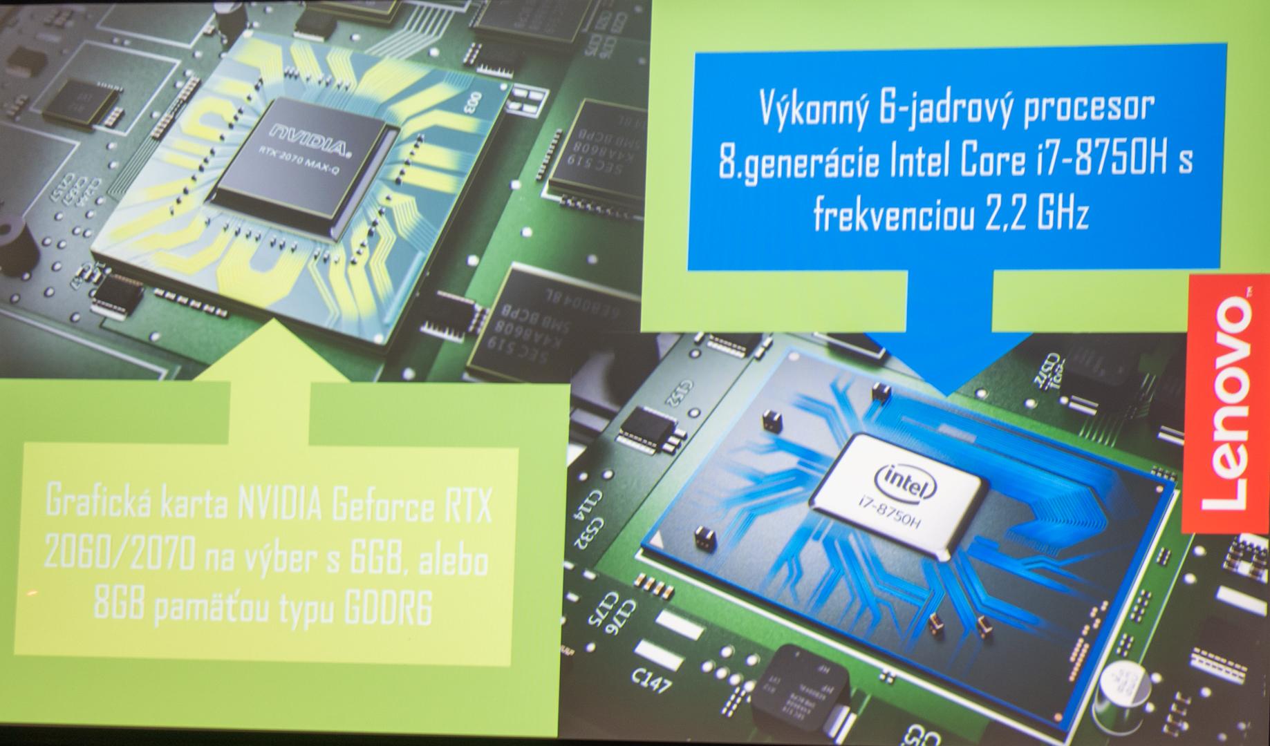 5c2d0cf4d Notebooky hernej série Lenovo Legion Y540 a Y740 sú vyzbrojené výkonnými  procesormi, rýchlou pamäťou RAM a najvýkonnejšími grafickými kartami  súčasnosti.