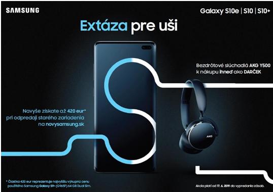 8bd9744a1 K nákupu smartfónu série Galaxy S10 teraz získate bezdrôtové slúchadlá AKG