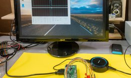 Photo Robotika a IoT: Osciloskop na Raspberry Pi