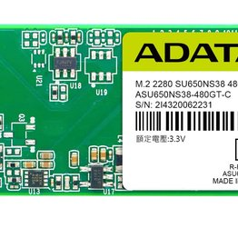 Photo  ADATA uvádza M.2 2280 SATA 6Gb/s SSD disk SU650