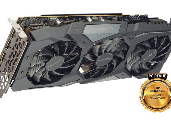Photo Gigabyte RX 5700 XT Gaming OC 8G / Radeon, ktorý deklasuje GeForce