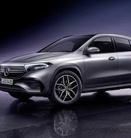 Photo Mercedes-Benz EQA 250, nové elektrické SUV v rade Mercedes EQ